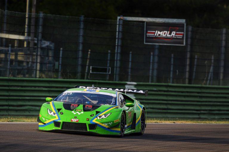 Tuomas Tujulan autokunta toiseksi Italian Super GT -sarjan Imolan kisassa