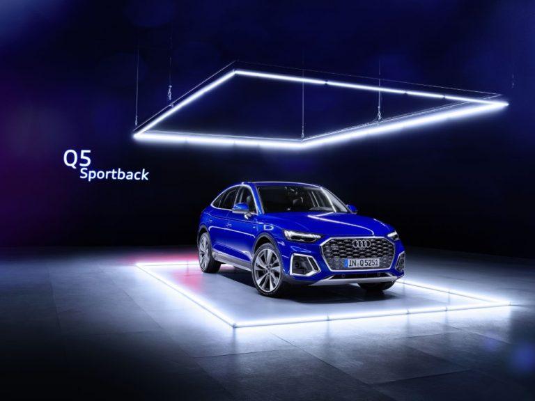 Tällainen uusi Audi Q5 Sportback tulee Suomeen ensi vuonna
