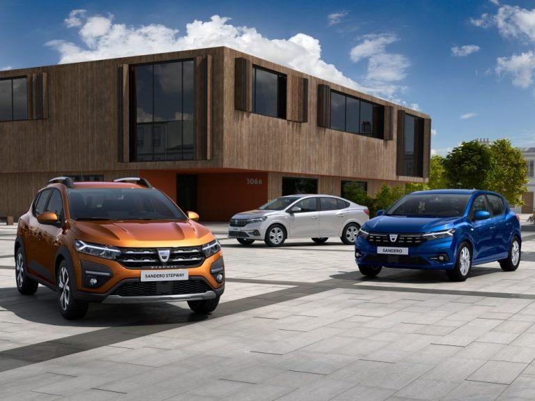 Tältä näyttävät Dacian uudet Sandero, Sandero Stepway ja Logan