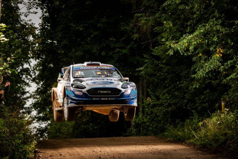 WRC: Esapekka Lappi oli nopein Viron MM-rallin avauksessa
