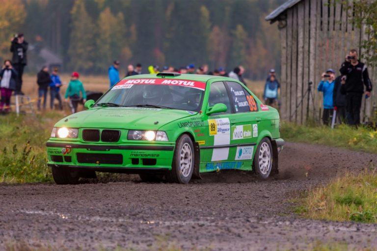 Ralli: Henri Taivalantti Junioreiden mestariksi ja Verneri Säisä Nuorten SM-sarjan ykkönen