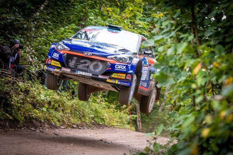 Jari Huttunen ajoi toiseksi Viron MM-rallin WRC3-luokassa
