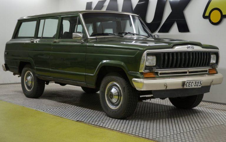 Tämä museoauto oli elokuussa Kamuxin verkkosivujen katsotuin auto
