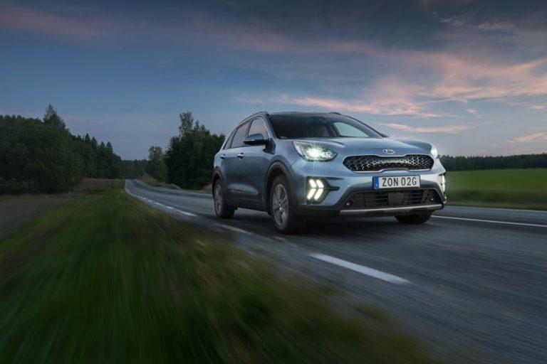 Kia Niro elokuussa Ruotsin myydyin henkilöauto