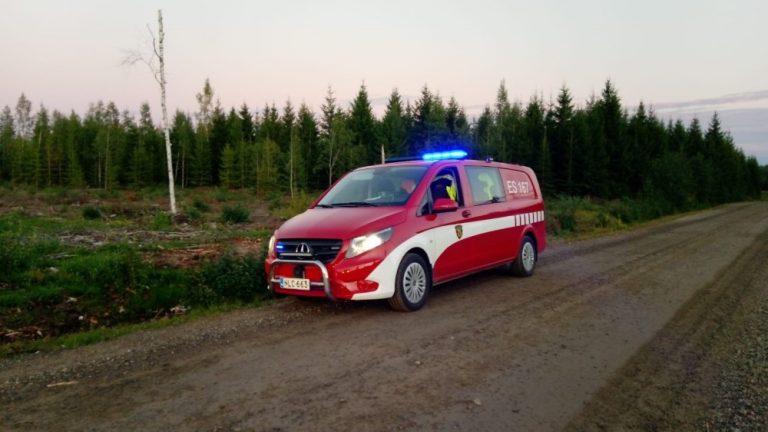 Tämä palokunnan miehistönkuljetusauto varastettiin viime yönä Mikkelissä