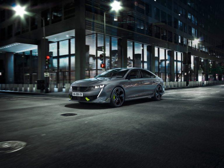 Peugeot 508 -perheen erikoismalli on Peugeotin kaikkien aikojen suorituskykyisin sarjatuotantoauto