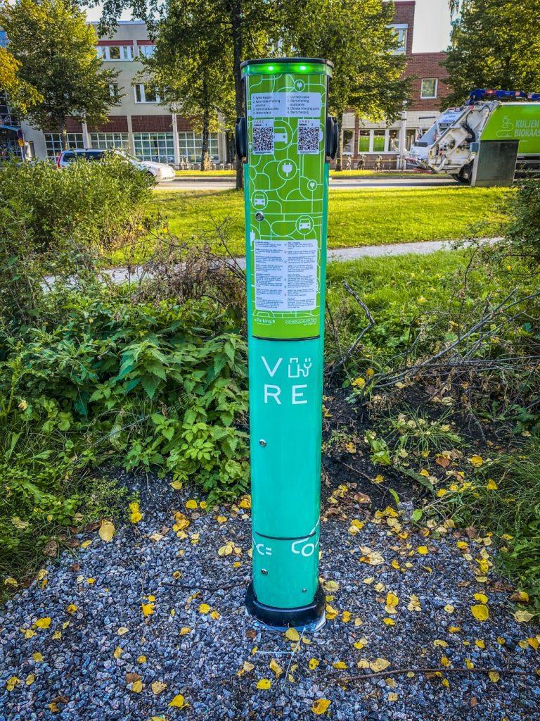 Kuopion kaupungille ensimmäiset omat sähköautojen latauspisteet