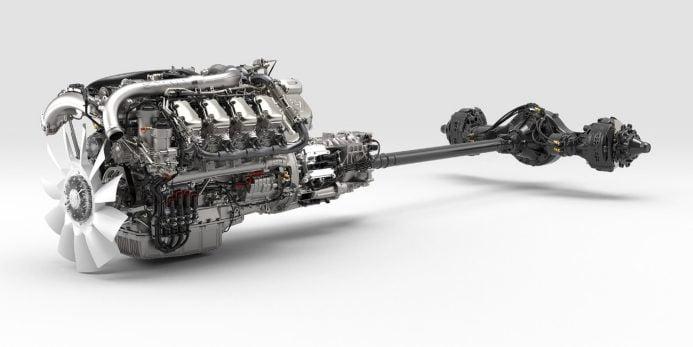 Scanialta uusi V8-mallisto