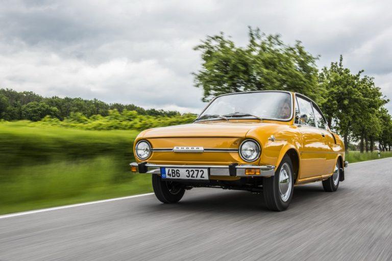 Historian havinaa: Škodan urheiluauto 110 R Coupé täyttää 50 vuotta