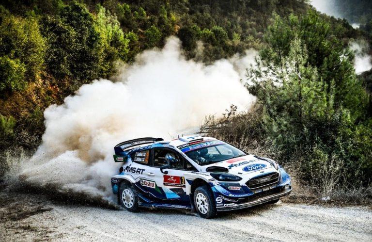 WRC: Evans johtaa MM-sarjaa — Suninen harmittelee jousitusrikkoa