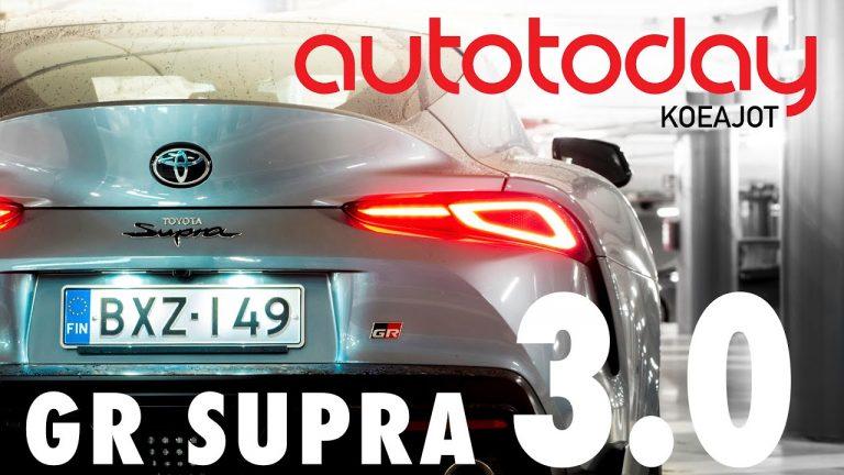 Autotoday testasi: Toyota GR Supra — BMW näkyy ja tuntuu, mutta Toyota yllättää