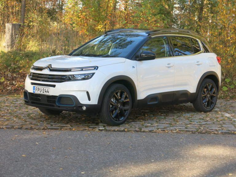 Citroën C5 -perheen ladattava hybridi on nyt Suomessa