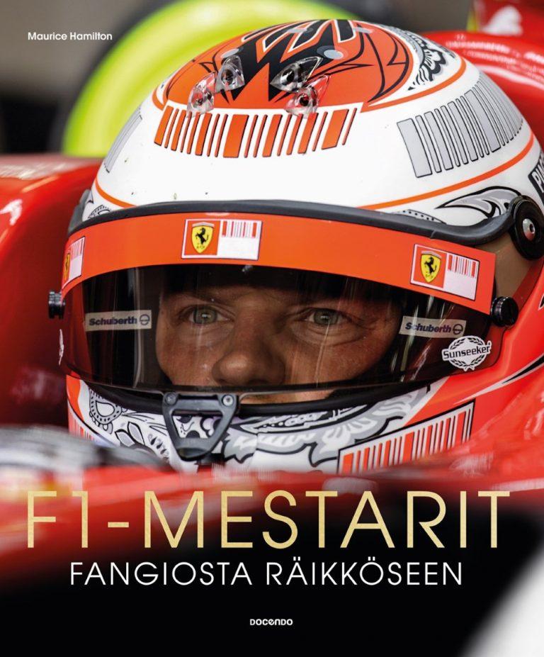 F1-mestarit Fangiosta Räikköseen -kirja nyt suomeksi