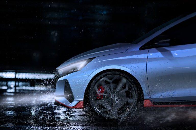 Ensimmäiset maistiaiset tulevasta Hyundai i20 N -mallista