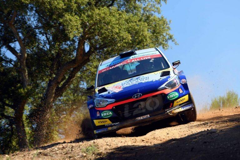 WRC: Jari Huttunen ajoi WRC3-luokan voittoon Italian MM-rallissa