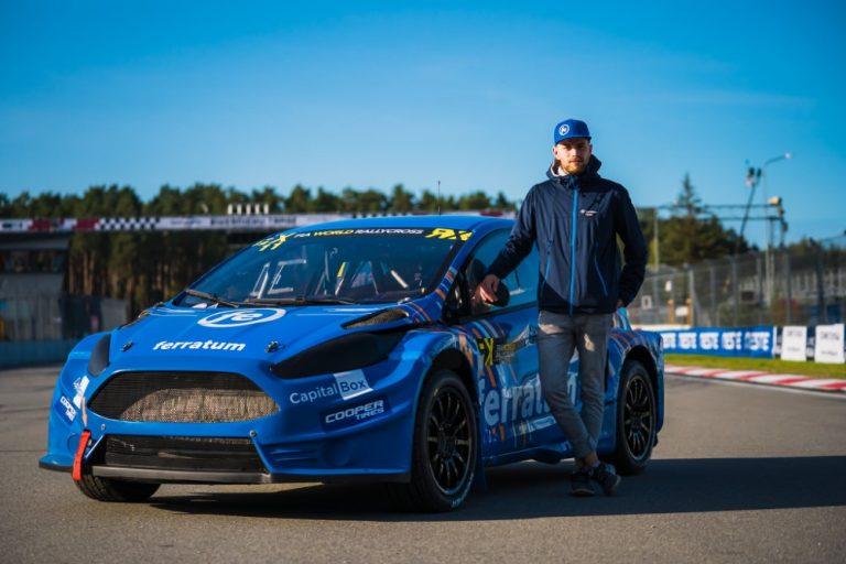 Juha Rytkönen rallicrossin MM-sarjan osakilpailuihin