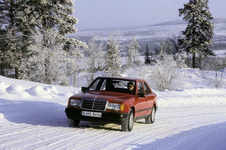 Kolme Mercedes-turvajärjestelmää debytoi vuonna 1985