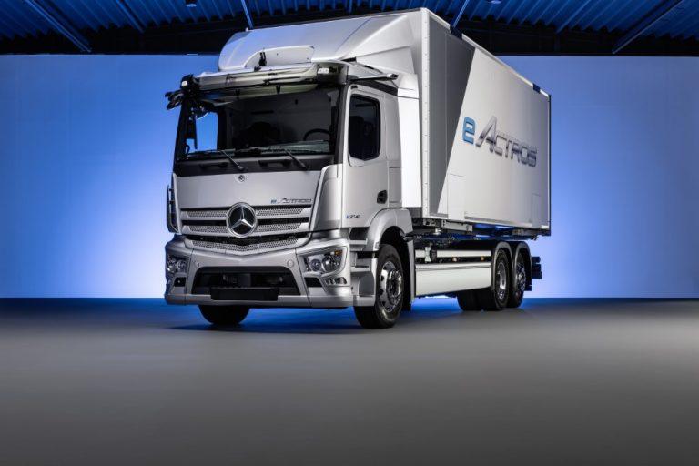 Sähköisen Mercedes-Benz eActros -mallin sarjatuotanto käynnistyy 2021