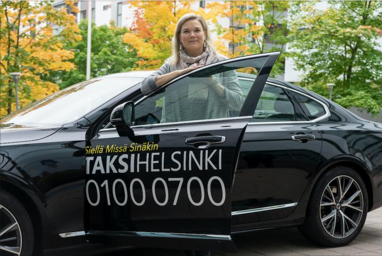 Taksialalle kaivataan enemmän naisia