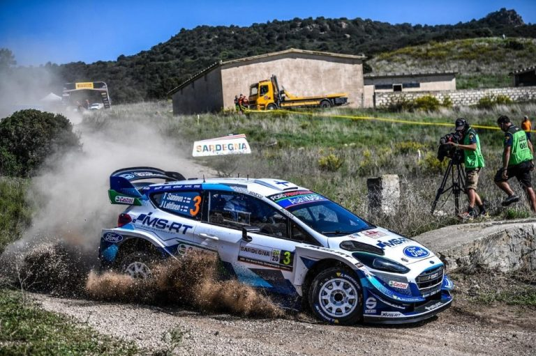 WRC: Suninen putosi neljänneksi