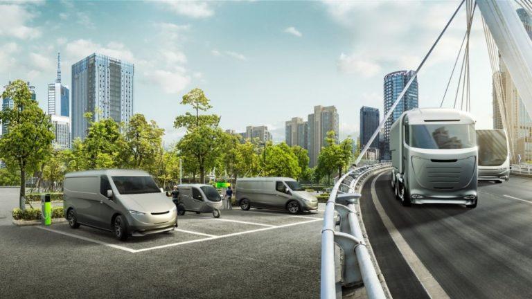 Bosch tuo useita ilmastoystävällisiä ratkaisuja kuljetusajoneuvoille