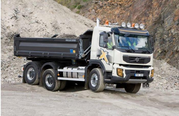 Volvon maansiirtoauto FMX on uudistunut