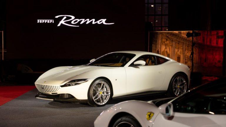 Ferrari Roma on saapunut Suomeen — katso video julkistuksesta!