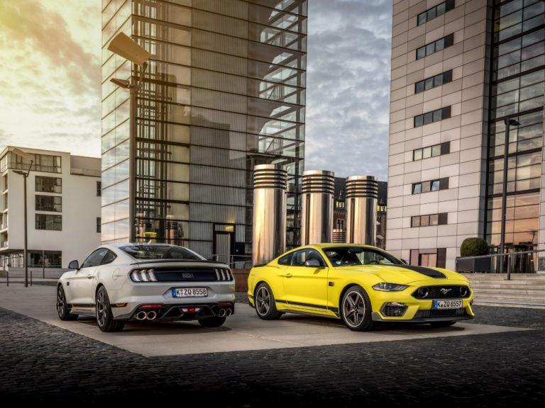 Ford Mustang Mach 1 -mallisto on hinnoiteltu
