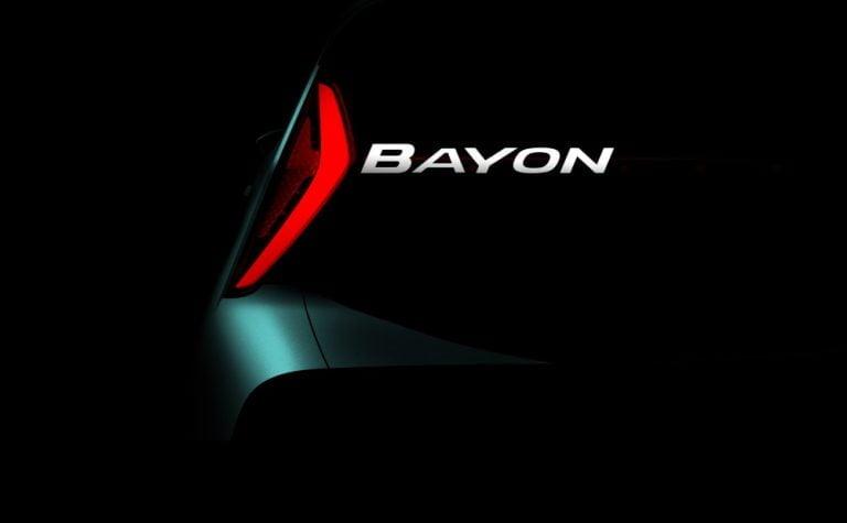 Hyundain seuraava SUV-malli on nimeltään Bayon