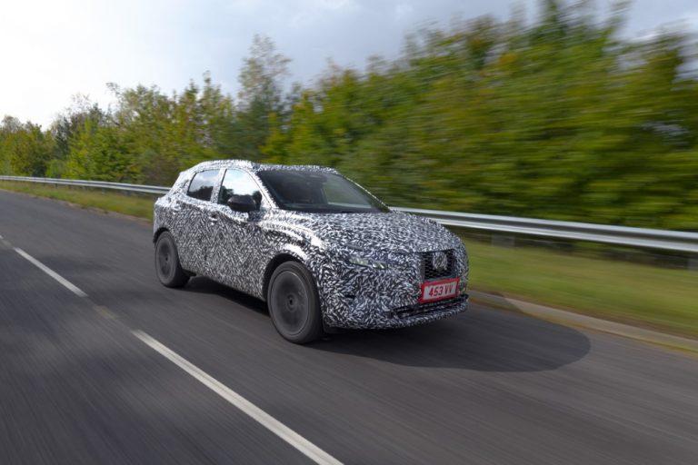 Ensimmäiset tiedot uudesta tulevasta Nissan Qashqaista