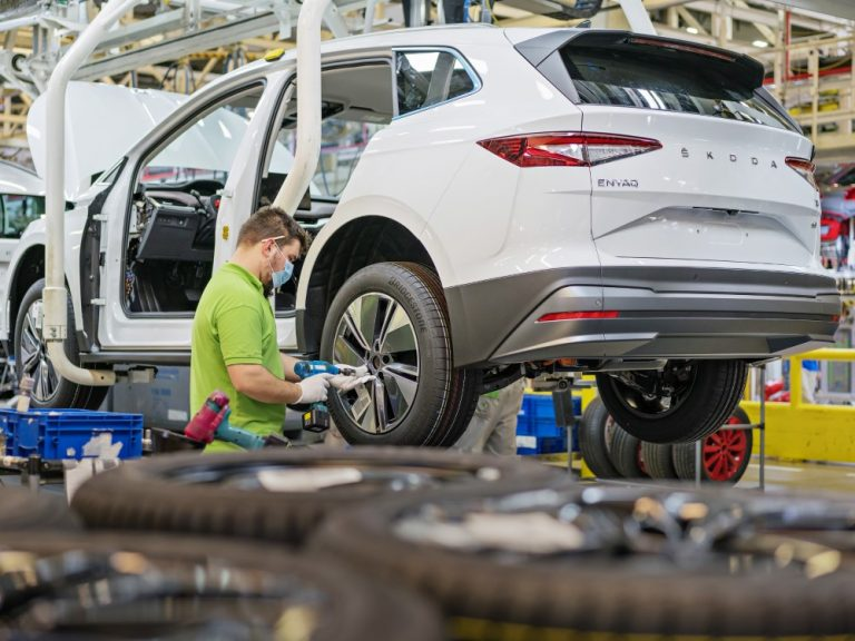 Škodan sähkökatumaasturin sarjatuotanto alkoi