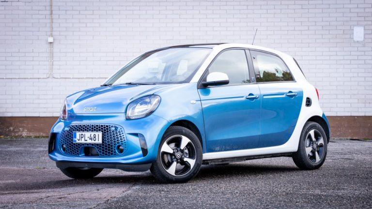 Autotoday testasi: Smart Forfour EQ — Hauska. Sähäkkä. Kaupunkiauto.