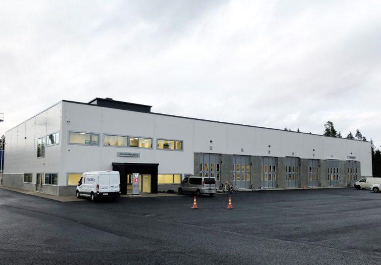 Volvo Truck Center Jyväskylän uudet tilat otetaan käyttöön maanantaina