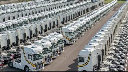 Espanjalainen kuljetusyritys tilasi 1300 uutta kuorma-autoa