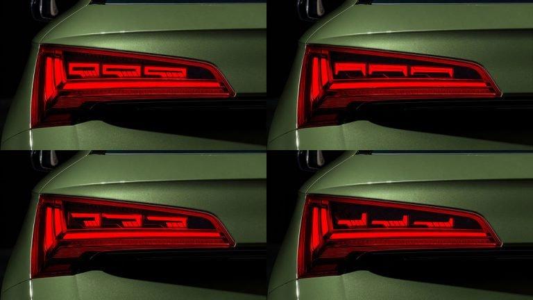 Uuteen Audi Q5 -malliiin uuden tekniikan avulla personoitavat takavalot