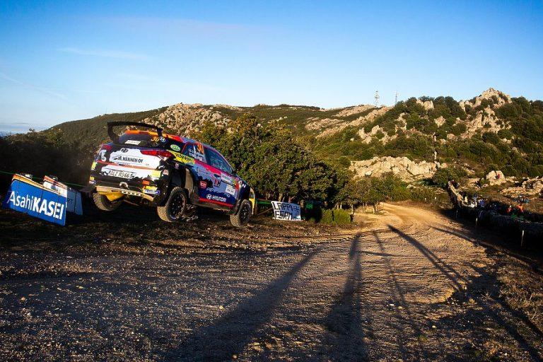 Jari Huttunen hakee Monzan MM-rallista WRC3-luokan mestaruutta