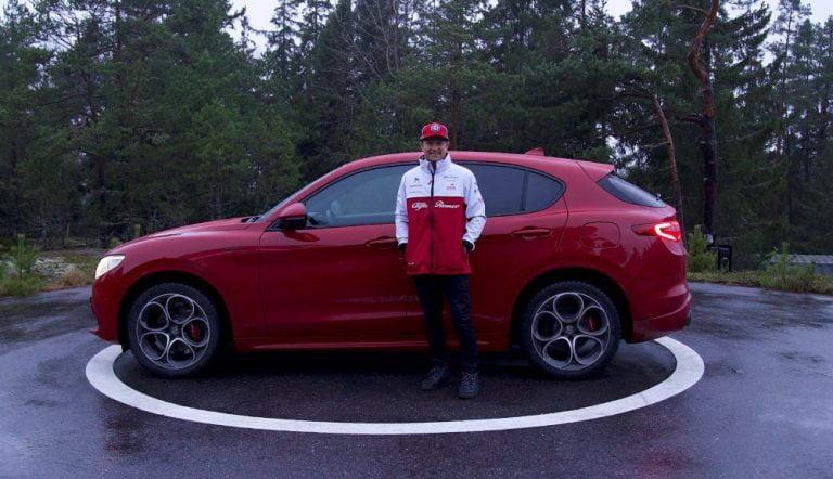 Kimi Räikkönen sai uuden Alfa Romeon
