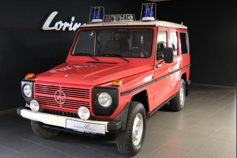 Päivän museoauto: Mercedes-Benz G-sarjan paloauto vuodelta 1983 — ajettu vain 18 700 km