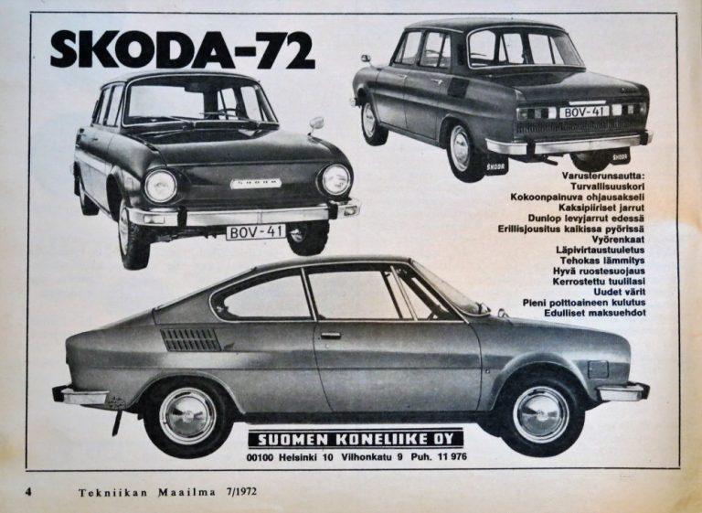 Päivän automainos: Skoda-72