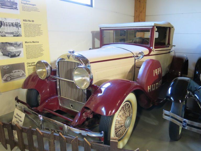 Päivän museoauto: Hudson Sport Coupé 1929