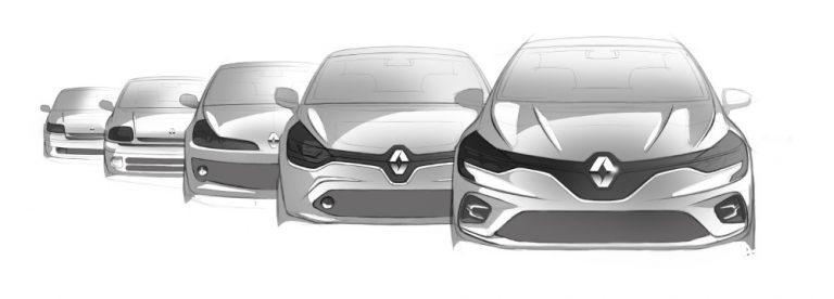 Historian havinaa: Renaultin Clio-malli 30 vuoden ikään