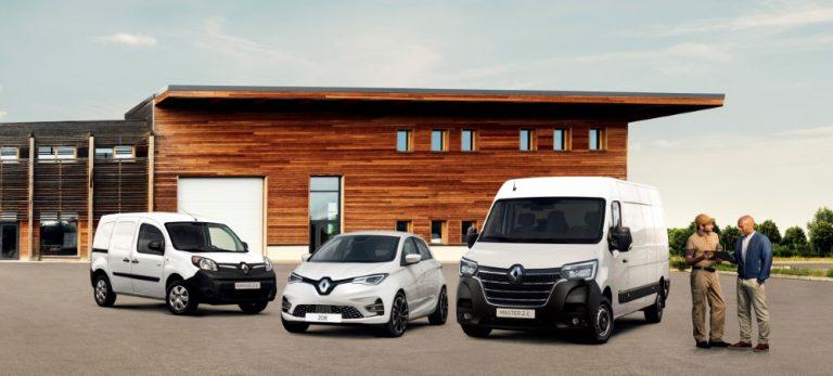 Renaultin sähköautoilla hyvä vuosi