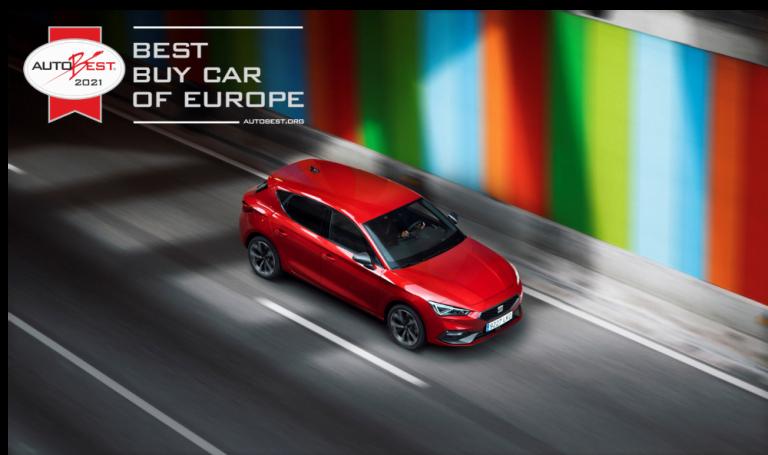 Uusi Seat Leon on Autobest-tuomariston mukaan paras ostettava auto Euroopassa 2021