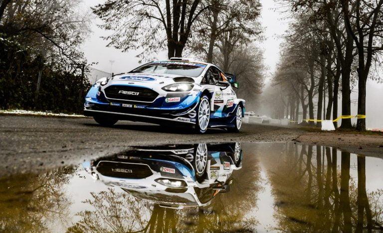 WRC: Sunisen vauhdikkaasti alkanut Monzan kisa päättyi moottoririkkoon