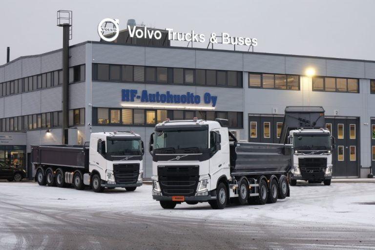 Viidessadas Volvo Pro X -sora-auto valmistui
