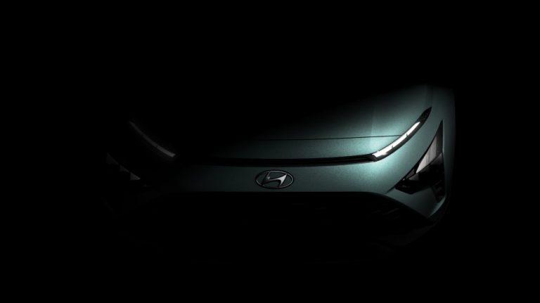 Näistä kuvista näkee jo hieman, miltä kohta tuleva Hyundai Bayon näyttää