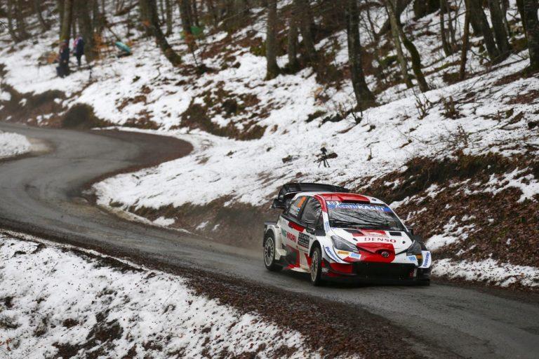 WRC: Kalle Rovanperä toisena Monte Carlon avauspäivän jälkeen — Teemu Suninen ajoi rajusti ulos