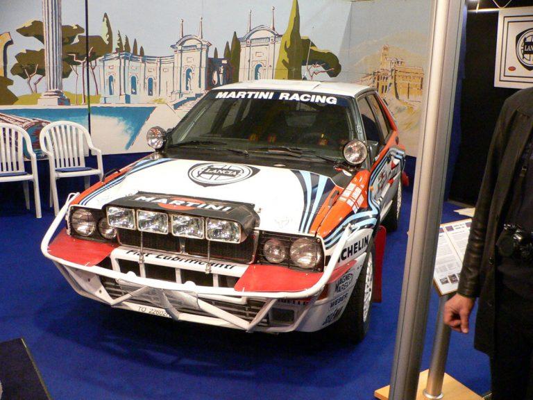 Päivän autourheilukuva: Juha Kankkusen Safari-rallin Lancia Delta -voittoauto