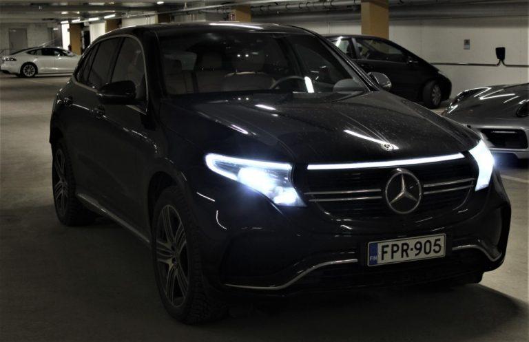Autotoday testasi: Mercedes-Benz EQC 400 4Matic Edition AMG — hiljainen, mutta janoinen saksatar