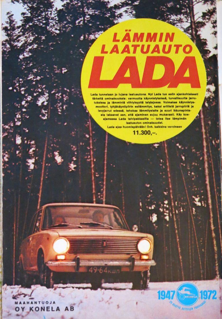 """Päivän automainos: """"Lämmin laatuauto Lada"""""""